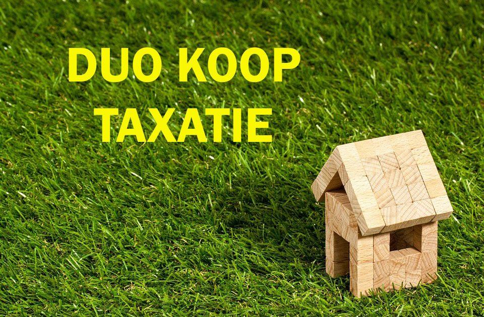 Duokoop taxatie Aanvragen